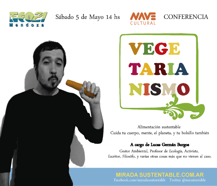 Flyer Conf Vegetarianismo