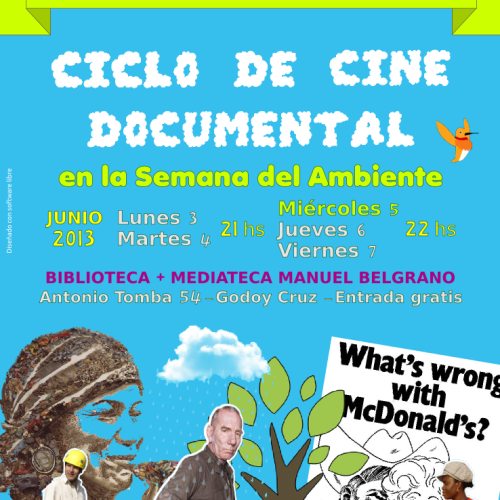 Ciclo de cine documental ambiental